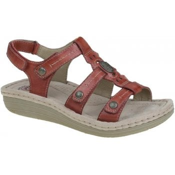 Earth Spirit Lynbrook Jazzy Red (N5) 30280 Ladies Sandals