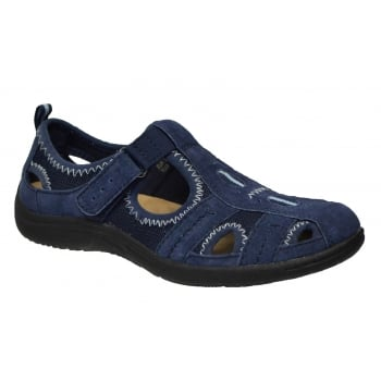 Earth Spirit Madison Nubuck Navy (G1) 24005 Ladies Sandals