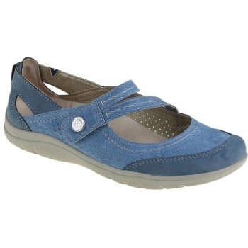 Earth Spirit Maryland Nubuck Cobalt Blue (N97) 30207 Ladies Sandals