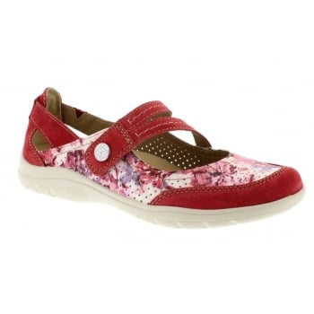 Earth Spirit Maryland Nubuck Jazzy Red (N6) 28065 Ladies Sandals