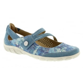 Earth Spirit Maryland Nubuck Moroccan Blue (B10) 28066 Ladies Sandals