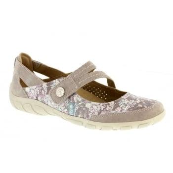 Earth Spirit Maryland Nubuck Silver Grey (N86) 28068 Ladies Sandals