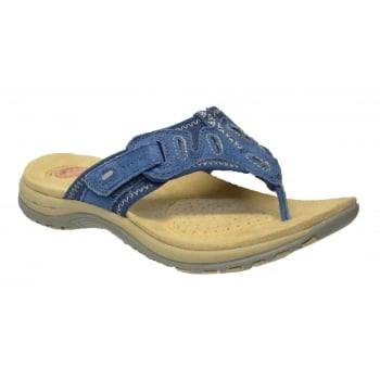 Earth Spirit Palm Bay Cobalt Blue (F11) 24108 Ladies Sandals