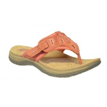 Earth Spirit Palm Bay Coral (N51B) 24109 Ladies Sandals
