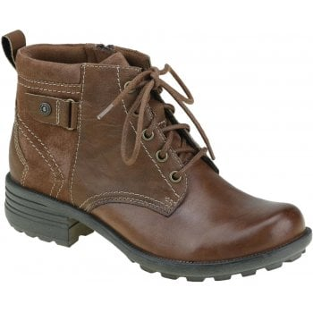 Earth Spirit Paxton 2 Leather / Suede Almond (N76) 30832 Ladies Boots