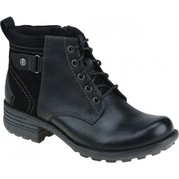 Earth Spirit Paxton 2 Leather / Suede Black (N55) 30830 Ladies Boots
