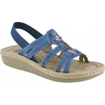 Earth Spirit Portland Cobalt Blue (E6) 30555 Ladies Sandals