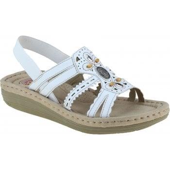 Earth Spirit Portland White (B24) 30554 Ladies Sandals