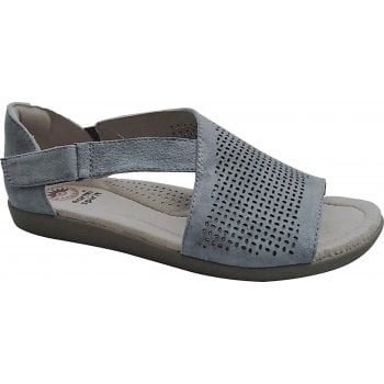 Earth Spirit Redvale Nubuck Frost Grey (E4) 30599 Ladies Sandals