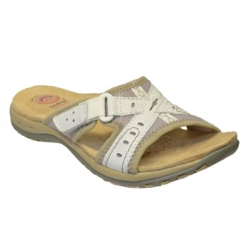 Earth Spirit Rialto Leather White (C4) 24115 Ladies Sandals
