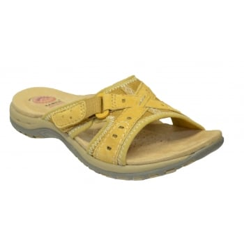 Earth Spirit Rialto Nubuck Amber Yellow (N200) 24112 Ladies Sandals