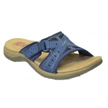 Earth Spirit Rialto Nubuck Cobalt Blue (F2) 24114 Ladies Sandals