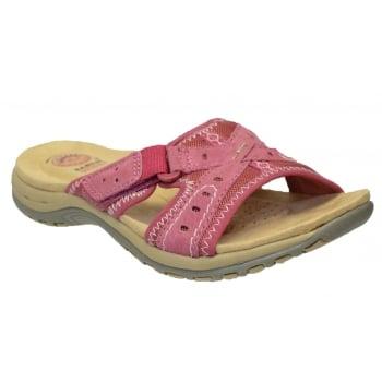 Earth Spirit Rialto Nubuck Pink Rose (N54) 24113 Ladies Sandals