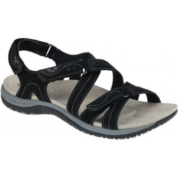 Earth Spirit Riverton Suede Black (N69) 30242 Ladies Sandals