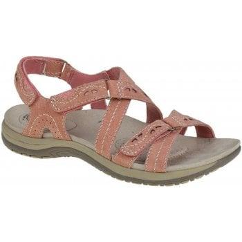 Earth Spirit Riverton Suede Coral (N63) 30245 Ladies Sandals