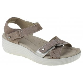 Earth Spirit Swifton Suede Molasses (N101) 30312 Ladies Wedge Sandals