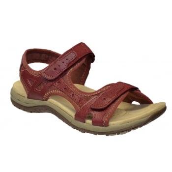 Earth Spirit Tyler Leather Bordeax (N26) 24120 Ladies Sandals
