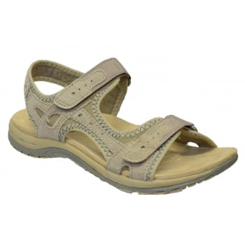 Earth Spirit Tyler Nubuck Light Khaki (N61) 24122 Ladies Sandals