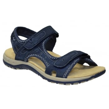 Earth Spirit Tyler Nubuck Navy Blue (F6) 24123 Ladies Sandals