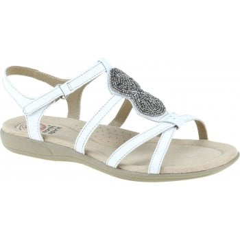 Earth Spirit Vancouver Leather White (N104) 30593 Ladies Sandals