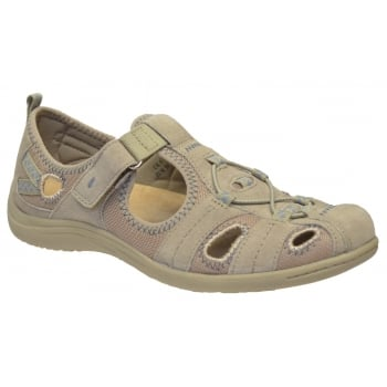 Earth Spirit Wichita Nubuck LT Khaki (N12) 21009 Ladies Sandals