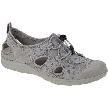 Earth Spirit Winona Leather / Textile New Khaki (C4) 30216 Ladies Sandals