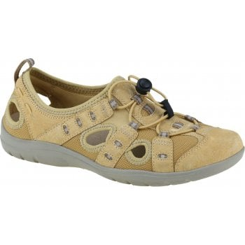 Earth Spirit Winona Nubuck / Textile Amber Yellow (N83) 30572 Ladies Sandals