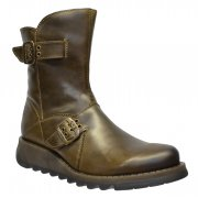 Fly London Seti Rug Olive (Z19) P142426013 Womens Boots