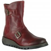 Fly London Seti Rug Red (Z30) P142426001 Womens Boots