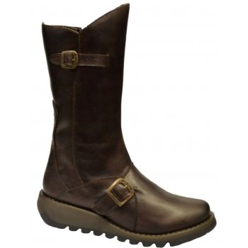 Fly London Mes 2 Dark Brown (Z11) P142913004 Womens Wedge Boots