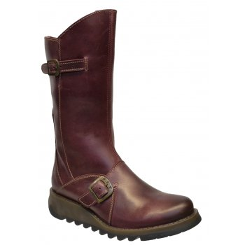 Fly London Mes 2 Rug Purple (SC-B4) P142913009 Womens Wedge Boots