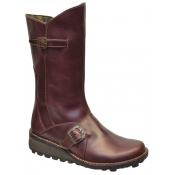 Fly London Fly London Mes Purple (Z18) P210315072 Womens Wedge Boots
