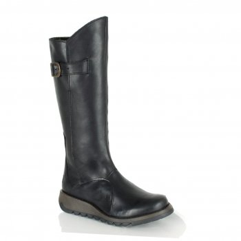 Fly London Mol 2 Black (Z28) P142912005 Womens Boots