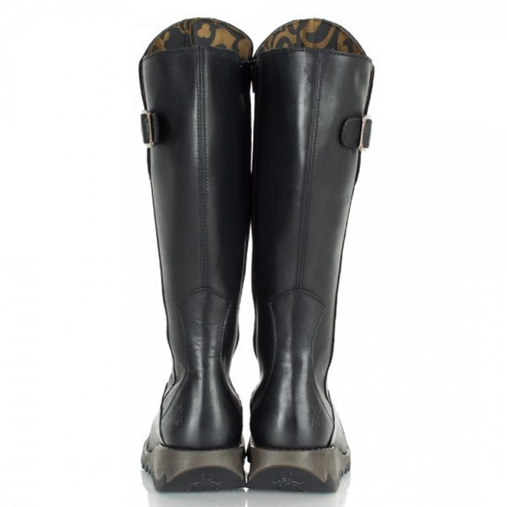 448458d558a Fly London Fly London Mol 2 Black (Z28) P142912005 Womens Boots ...