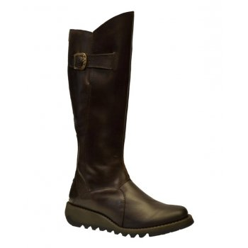 Fly London Mol 2 Dk Brown (Z112) P142912004 Womens Boots