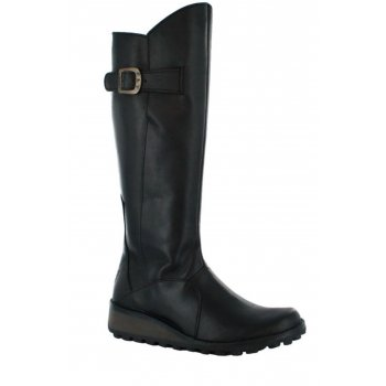 Fly London Mol Black (Z3) P210318047 Ladies Boots All Sizes
