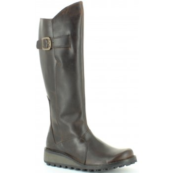 Fly London Mol Dk Brown (A9 / Z101) P210318046 Ladies Boots All Sizes
