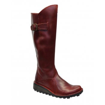 Fly London Mol Red (Z19) P210318040 Ladies Boots All Sizes