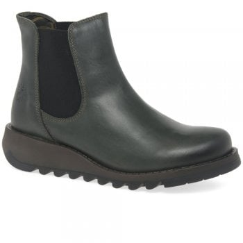 Fly London Salv Diesel (SC4) P143195005 Womens Wedge Boots