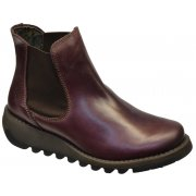 Fly London Salv Purple (Z14) P143195003 Womens Wedge Boots