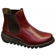 Fly London Salv Red (Z12) P143195004 Womens Wedge Boots