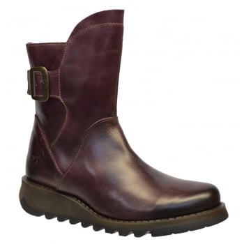 Fly London Sien571fly Rug Purple (N5) P143571006 Womens Boots