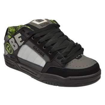 Globe Tilt Black / Charcoal / Lime (OSF) 10898 Mens Skate Trainers