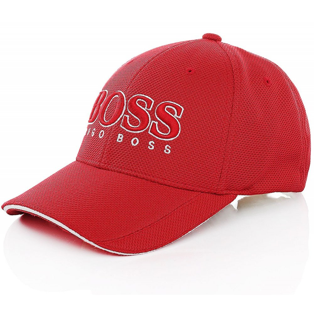 71a368cf60a Hugo Boss HUGO BOSS Fundamental  Cap US Red (CAB-2) 50251244 Mens ...