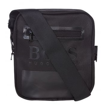 Hugo Boss Polyester Black (A50) D711662 Man bag