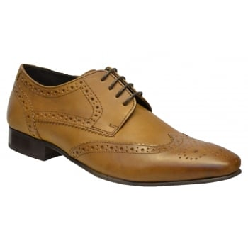 IKON Ikon Ritchie Brogue Leather Tan (N67) SM-2345 Mens Shoes