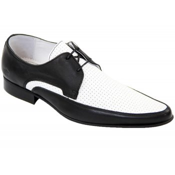 IKON Jam Black / White (C2)  IK3414 Mens Shoes