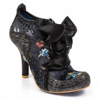 Irregular Choice Abigails Third Party Black / Pewter (B7) 3081-06CC Ladies Heels