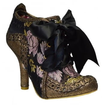Irregular Choice Abigails Third Party Bronze / Gold (N36) 3081-06BQ Ladies Heels