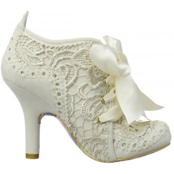 Irregular Choice Irregular Choice Abigails Third Party Cream (N7) 3081-6Q Ladies Heels